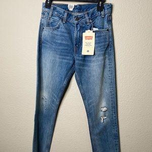 Levi's 505 Cropped Denim Jeans